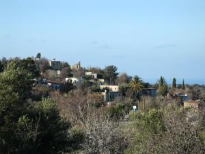 Αποψη του χωριού από τα βόρεια