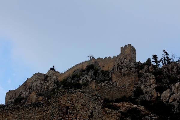 Το κάστρο εκεί ψηλά.