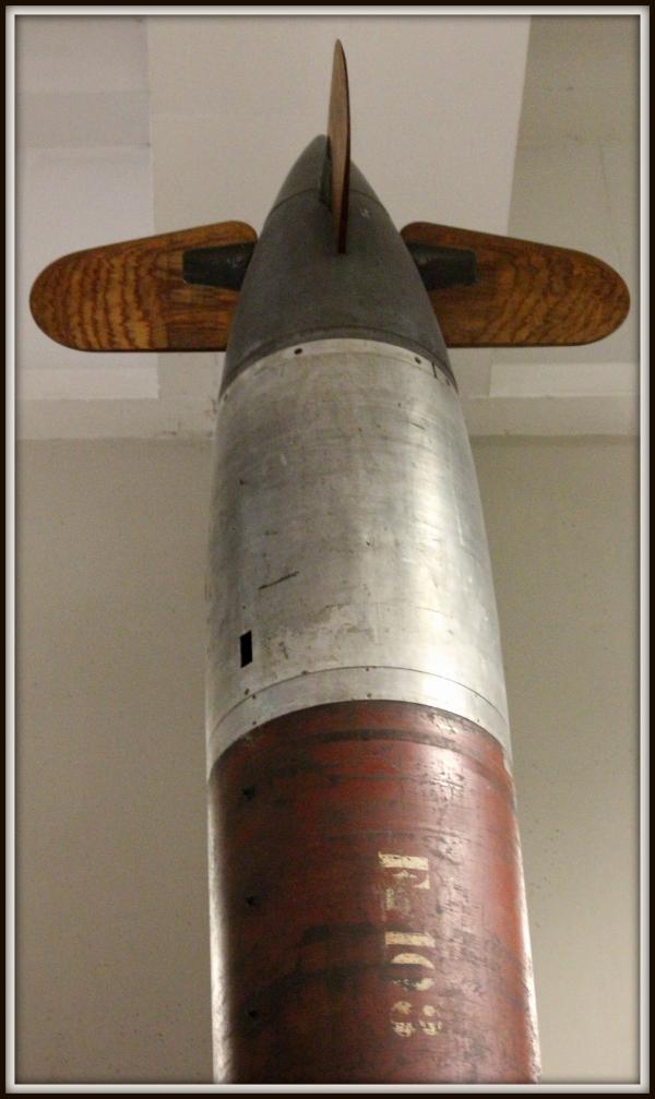 Ξύλινος πύραυλος.